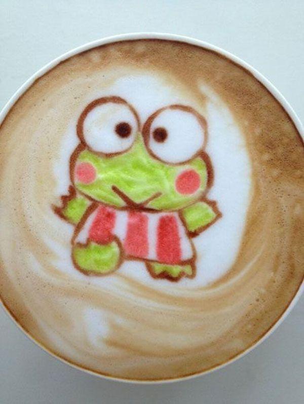kero-keroppi-cappuccino