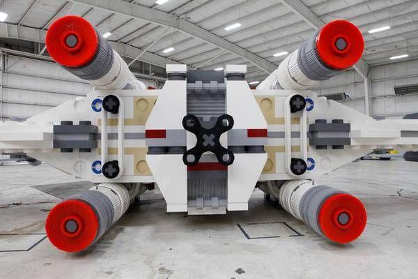 Lego X-Wing gigante 5