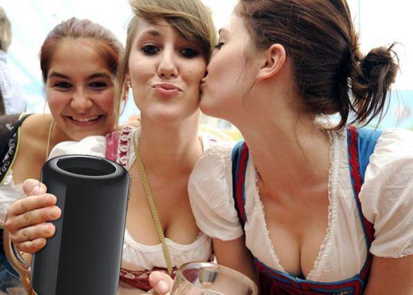 Mac Pro-boccale di birra