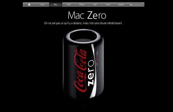 Mac Pro-Coca-Cola zero