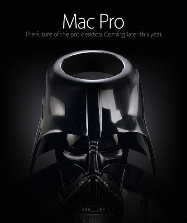 Mac Pro-casco Darth Fener