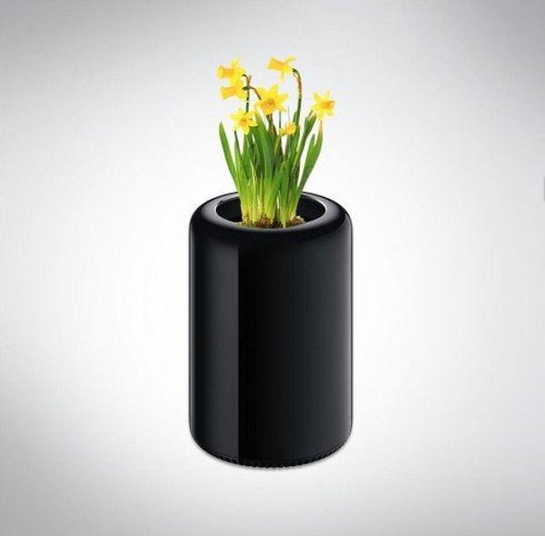 Mac Pro-vaso di fiori