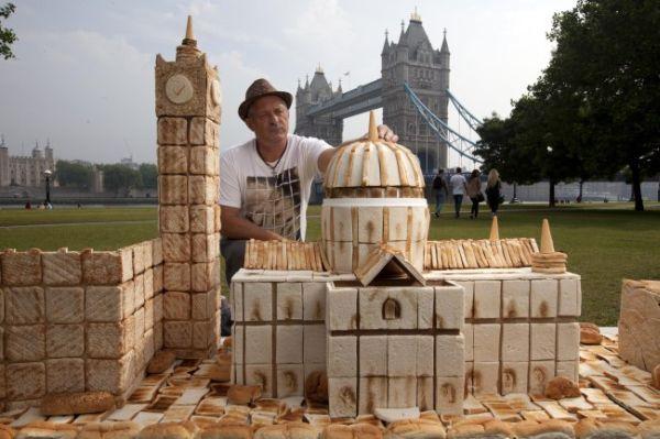 Monumenti di Londra di pane 1