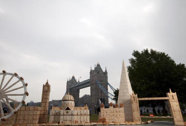 Monumenti di Londra di pane 2