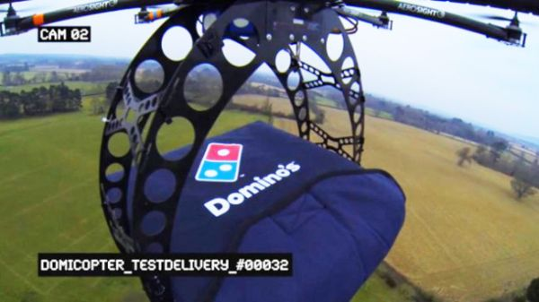 Pizza al volo: DomiCopter 1