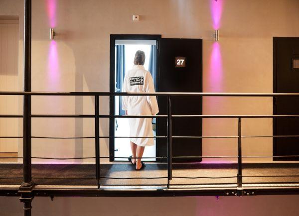 Het Arresthuis Hotel: entrata camera