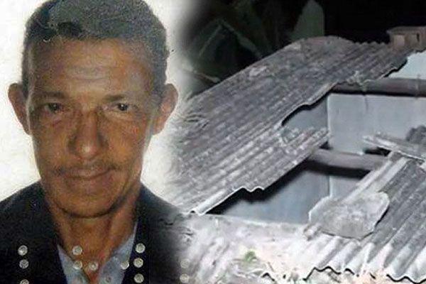 Joao Maria de Souza e il suo tetto sfondato
