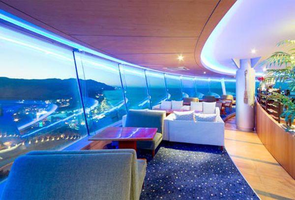 Sun Cruise Hotel: bar