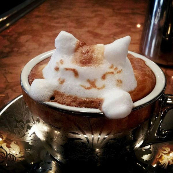 Cappuccino in 3D: 1