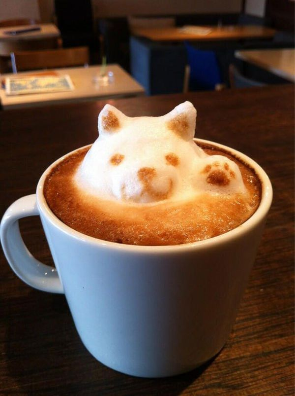 Cappuccino in 3D: 3