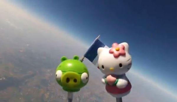 Giocattoli nello spazio