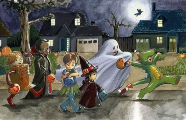 Halloween: travestimenti e filastrocche
