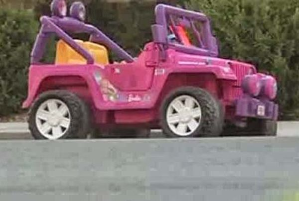 multa per jeep Barbie
