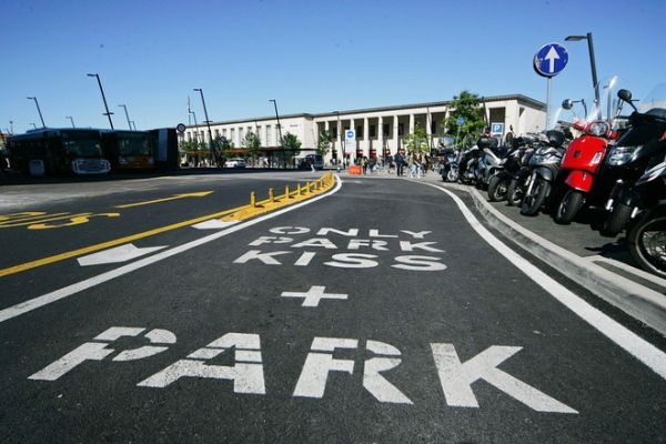 Park Kiss corsia