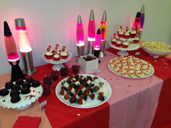 Feste ciclo mestruale: buffet