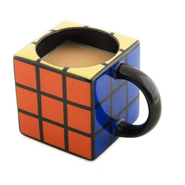 Tazza a forma cubo Rubik