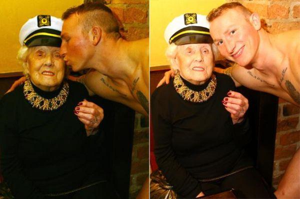 Doris Deahardie con spogliarellista 4