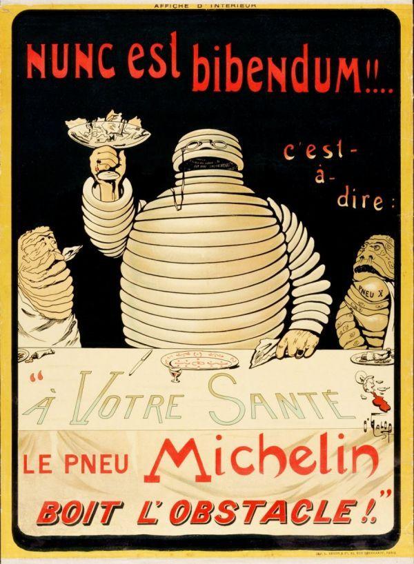 Omino Michelin: manifesto 1898