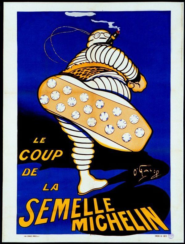 Omino Michelin: manifesto 1912