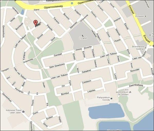 Geldrop: mappa delle strade
