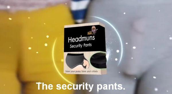 Headmuns Security Pants