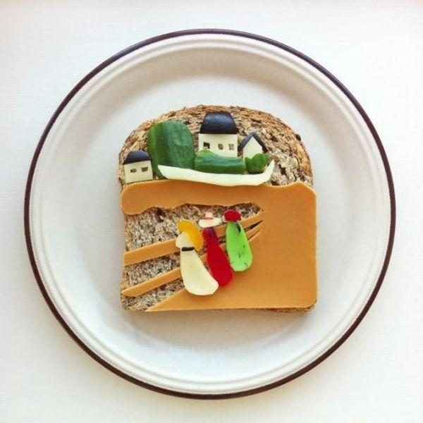 toast Edvard Munch