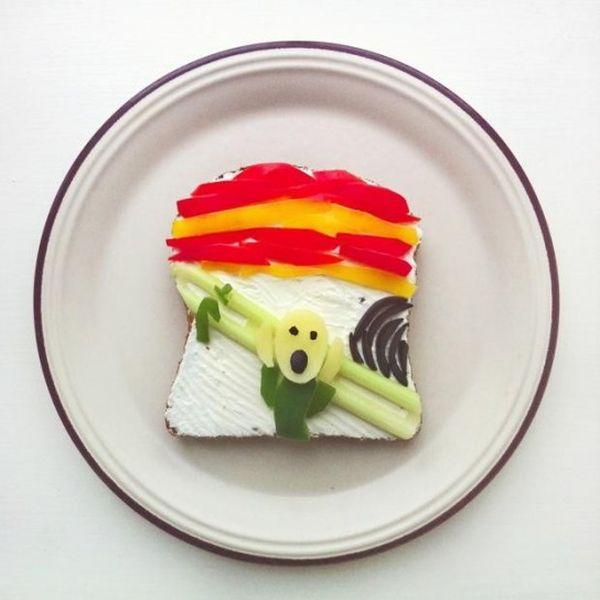 toast Edvard Munch urlo