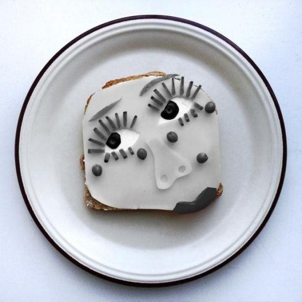 toast Man Ray a colazione