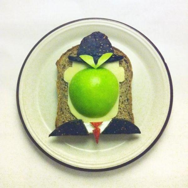 Toast Rene Magritte