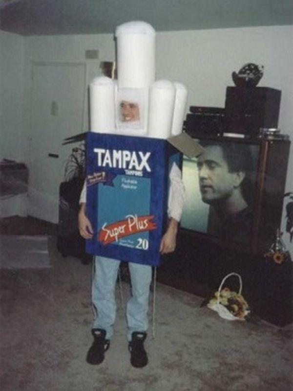 Uomo-Tampax
