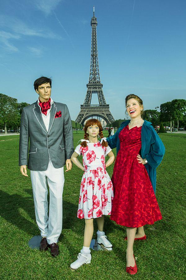 Suzanne Heintz con famiglia di manichini 2