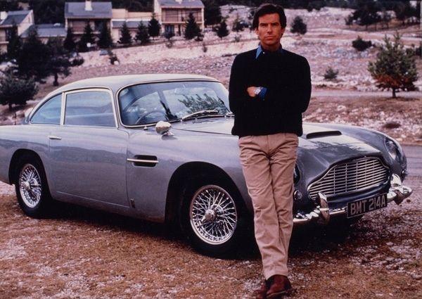 Aston Martin db5 Goldeneye