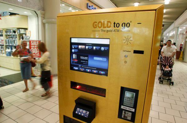 bancomat che eroga oro 1