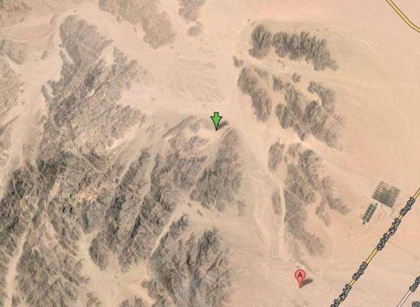 cinema nel Sinai: immagine satellite