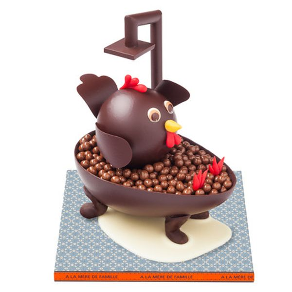 Ma cosa le uova di pasqua pi originali del mondo - Bagno di cioccolato ...