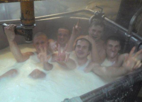 bagno nel latte