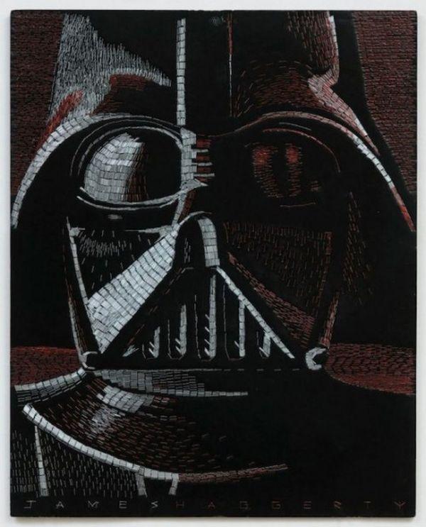 Darth Vader by James Haggerty