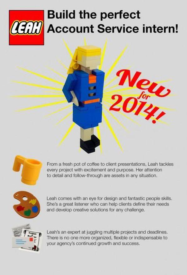Leah Bowman curriculum Lego: istruzioni