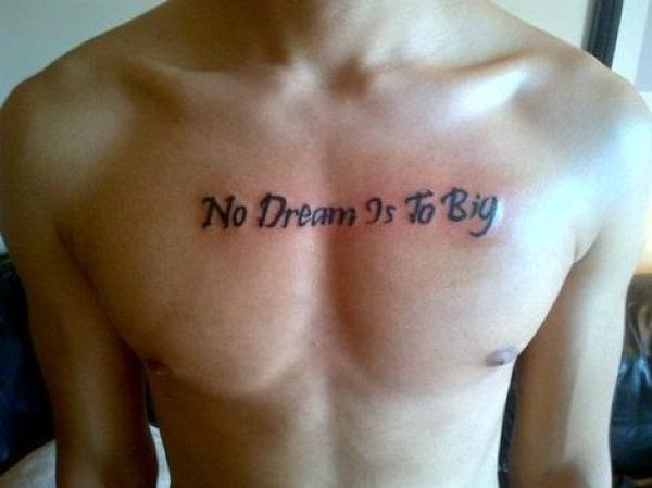 no dream is to big