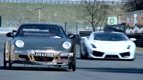Porsche a pedali 5