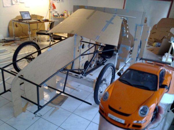 Porsche a pedali: struttura 2