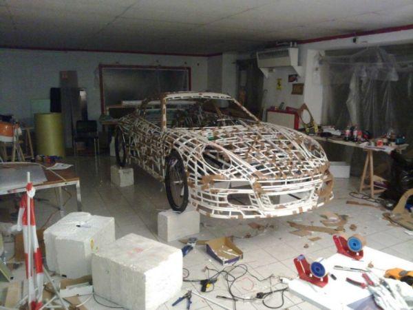Porsche a pedali: struttura 4