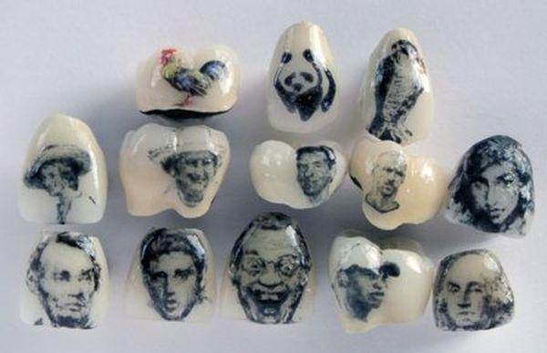 tatuaggi sui denti: personaggi