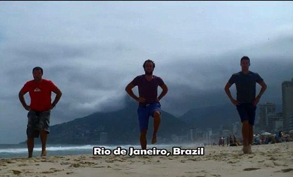 balli irlandesi a Rio de Janeiro Brasile