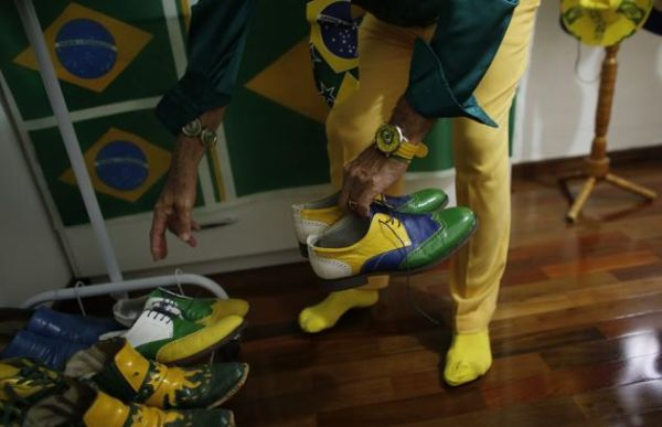 Nelson Paviotti: scarpe