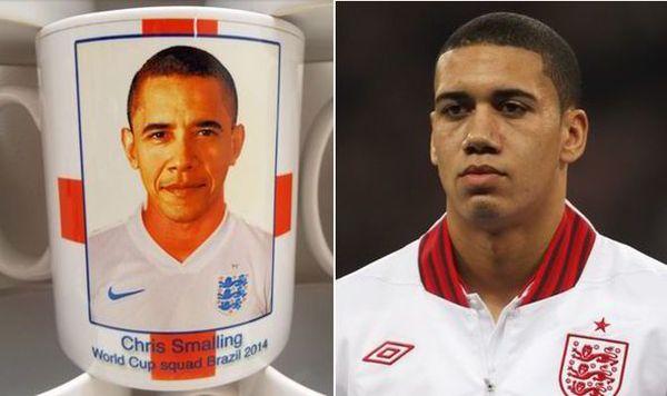 Obama-Smalling: tazza sbagliata