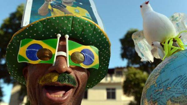 tifoso Brasile