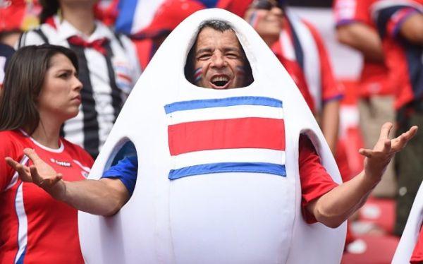 tifoso Costa Rica