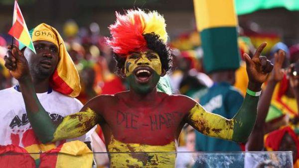 tifoso Ghana Die Hard
