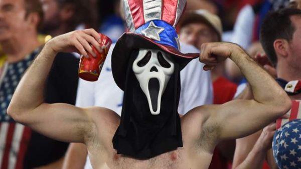 tifoso Stati Uniti maschera Scream
